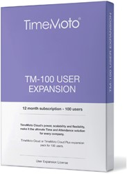 TimeMoto TM-100 CLOUD user expansion