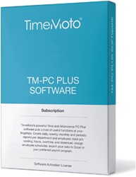 TimeMoto TM-PC PLUS planningssoftware