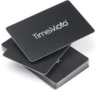 TimeMoto RF-100 RFID cards