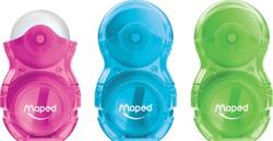 Maped puntenslijper/gum Loopy blister assorti