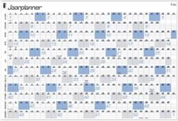 Jaarplankalender 2022 Quantore A1 84x57cm