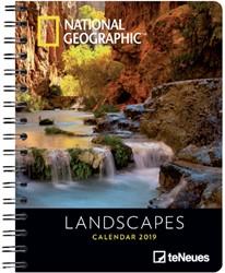 Agenda 2019 teNeues National Geographic Landscapes 16.5x21.6cm