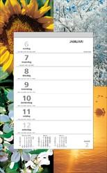 Weekkalender 2020 motief vier seizoenen
