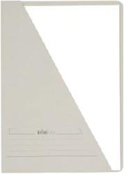 Insteekmap driehoeksmap Jalema Infinio A4 grijs