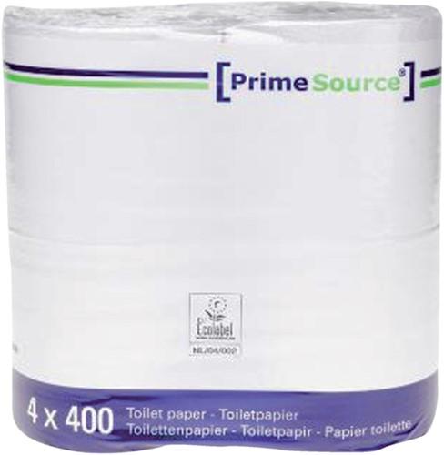 Toiletpapier PrimeSource Duo 2laags 400vel 40rollen-2
