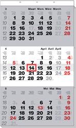 3-Maandskalender 2020 Manager meertalig