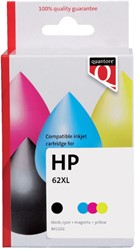 Inkcartridge Quantore HP N9J71AE 62XL zwart + kleur