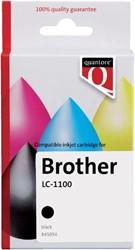Inktcartridge Quantore Brother LC-1100 zwart