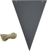 Krijtbord securit vlaggen set 14 stuks zwart + 1 marker-3