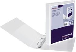 Presentatie ringband Falken A4 4-rings D-mech 16mm PP wit