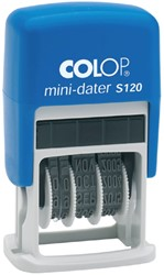 Datumstempel Colop S120 mini-dater 4mm frans