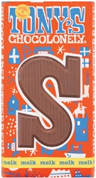 Chocolade Tony's Chocolonely Melk S 180gr