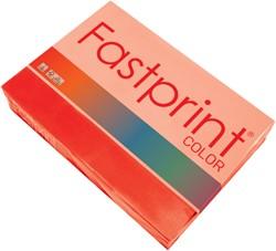 Kopieerpapier Fastprint A3 80gr felrood 500vel