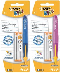 Vulpotlood BicKids beginners HB in roze en blauw 1,3mm