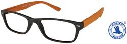 Leesbril +1.00 Feeling bruin-oranje
