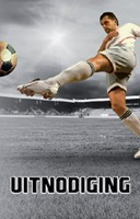 Uitnodiging voetbal stoer