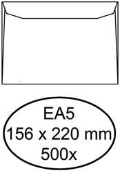 Envelop Quantore bank EA5 156x220mm wit 500stuks