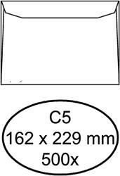 Envelop Quantore bank C5 162x229mm wit 500stuks