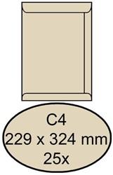 Envelop Clevermail akte C4 229x324mm 120gr creme 25 stuks