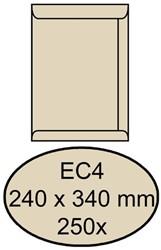 Envelop Quantore akte EC4 240x340mm cremekraft 250stuks