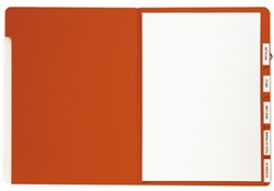 Sorteermap Jalema A4 6-vaks rood
