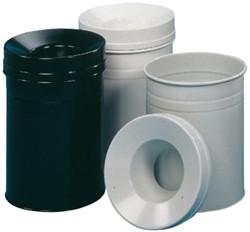 As-, papier- en afvalbakken