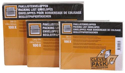 Paklijstenvelop CleverPack zelfklevend blanco 230x110mm 100st-2