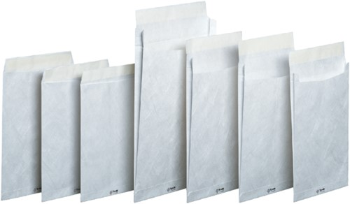 Envelop Tyvek akte C5 176x250mm 55gr wit 100stuks-2