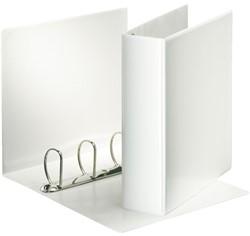 Presentatieringband Esselte A4 Maxi 4-rings D-mech 50mm wit
