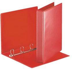 Presentatieringband Esselte A4 4-rings O-mech 16mm rood