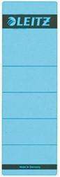 Rugetiket Leitz breed 62x192mm zelfklevend blauw