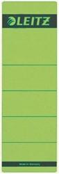 Rugetiket Leitz breed/kort 62x192mm zelfklevend groen