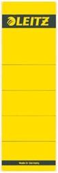Rugetiket Leitz breed/kort 62x192mm zelfklevend geel