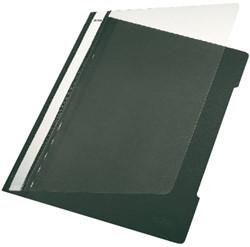 Snelhechter Leitz standaard A4 PVC zwart