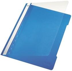 Snelhechter Leitz standaard A4 PVC blauw