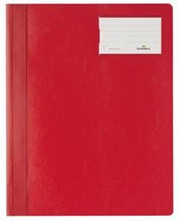 Snelhechter Durable A4 PVC etiketvenster rood