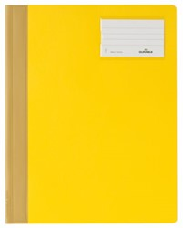 Snelhechter Durable A4 PVC etiketvenster geel