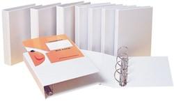 Panoramaringband Biëlla 4-rings D-mech A4-25mm wit