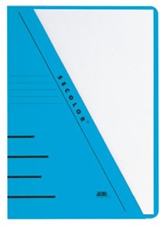 Insteekmap driehoeksmap Jalema Secolor A4 blauw