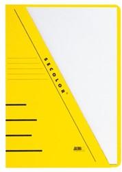 Insteekmap Secolor A4 270gr geel