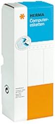 Etiket Herma 8210 88.9x23Mm 1-baans wit 6000stuks