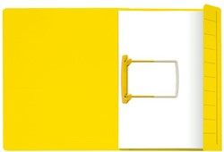 Clipmap  Secolor A4 1 klep 270gr geel