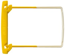 Bundelmechaniek Jalemaclip compleet geel 100 stuks