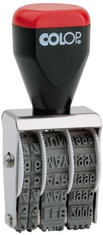 Datumstempel Colop 04000 niet zelfinktend 4mm-2