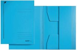 Dossiermap Leitz A3 3 kleppen 430gr blauw