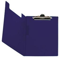 Klembordmap Bantex met klem +penlus donkerblauw