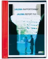 Rapportenmap Jalema A4 met snelhechter rood