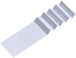 Ruiterstrook voor Esselte Classic 50mm wit