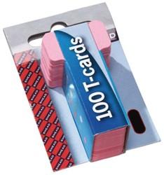 Planbord T-kaart A5548-12 15mm roze