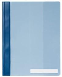 Snelhechter Durable A4 PVC extra breed blauw